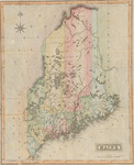 [Map of] Maine by Fielding Lucas
