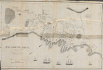 Falmouth Neck as it was when destroyed by Mowett, Oct. 18, 1775