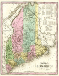 A New Map of Maine by H.S. Tanner
