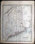 Map of the Maine