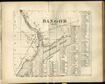 Bangor 1820 Map