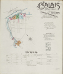 Calais, 1889 by Sanborn Map Company