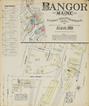 Bangor, 1884 by Sanborn Map and Publishing Co.