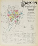 Bangor, Brewer, and South Brewer, 1895 by Sanborn-Perris Map Co.