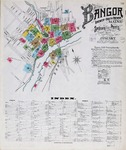 Bangor, Brewer, and South Brewer, 1901 by Sanborn-Perris Map Company