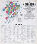 Bangor, Brewer, and South Brewer, 1906 by Sanborn Map Company