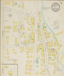Old Town, 1895 by Sanborn Map & Publishing Co.
