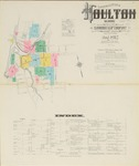 Houlton, 1912 by Sanborn Map Company