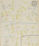 Blue Hill, 1925 by Sanborn Map Company