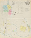 Belfast, 1890 by Sanborn-Perris Map Co.