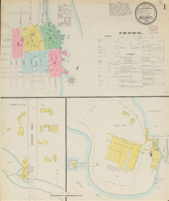 Fogler Library S Sanborn Maps Of Maine Special Collections The