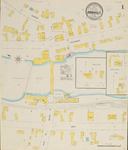 Brownville, 1906 by Sanborn Map Company