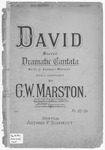 David Sacred Dramatic Cantata