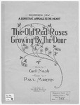 The Old Red Roses Growing by the Door