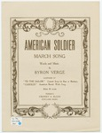 American Soldier : March Song