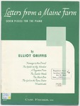 Letters from a Maine Farm : Seven Pieces for the Piano