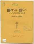 Cahal Mor of the Wine-Red Hand : A Rhapsody for Baritone and Orchestra
