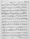 Etude in A Major : Left hand only