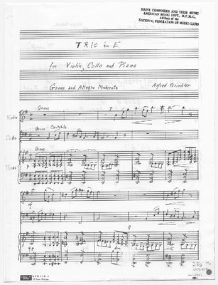 Maine Sheet Music Collection | Public domain (may be