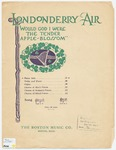 Londonderry Air: Would God I Were the Tender Apple-Blossom