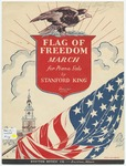 Flag of Freedom : March by Stanford King and G. D Hauman