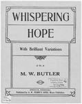 Whispering Hope : With Brilliant Variations
