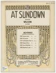 At Sundown : Reverie
