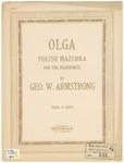Olga : Polish Mazurka