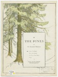 The Pines : A Tone - Poem For Piano