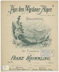 Aus den Meraner Alpen : From the Meran Alps