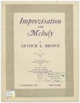 Improvisation and Melody