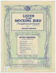 Listen to the Mocking Bird : Paraphrase de Concert