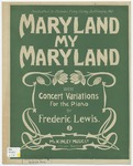 Maryland, My Maryland : Concert Variations