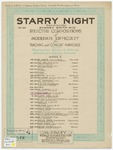 A Starry Night : Serenade - Serenata