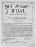 Sweet Message of Love : A Meditation