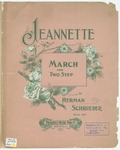 Jeanette : March And Two Step