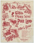 """The Pixies' Drill(March) : """"The little pixies, soldiers all, March up and down their fairy hall"""""""