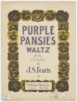 Purple Pansies : Waltz