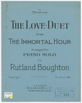 The Love - Duet : from The Immortal Hour