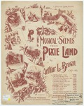 """The Pixies Riding Horseback : """"With shouts and laughter, full of play. Some pixies ride their steeds all day"""""""