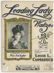 Leading Lady Waltzes