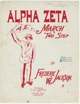 Alpha Zeta : March - Two Step