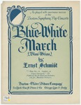 Blue - White March : Blau - Weiss