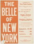 The Belle Of New York : Selection