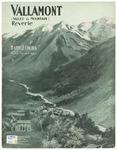 Vallamont : Valley and Mountain