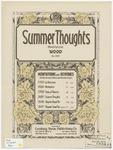 Summer Thoughts : Meditation