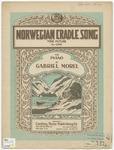 Norwegian Cradle Song : Tone Picture