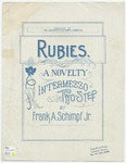 Rubies : A Novelty Intermezzo Two-Step