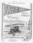 Safety First! : March and Two - Step