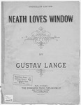 Neath Love's Window : Unter Liebchens Fenster
